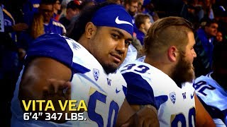 Download Vita Vea highlights: Do-it-all defensive lineman makes plays all over field Video