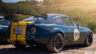 Download Vintage-Inspired, Turbocharged Fastback Mazda Miata - One Take Video