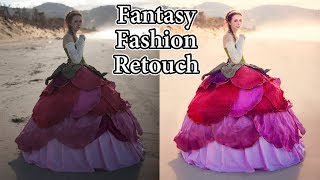 Download Adobe Photoshop Tutorials CC Creative Cloud How to retouch fashion photography natural back lighting Video