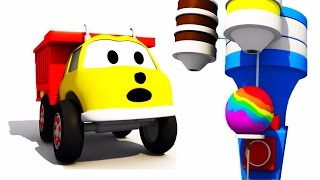 Download The Giant Lollipop: learn colors with Ethan The Dump Truck | Educational cartoon for children Video