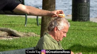 Download Secretly Putting Cheeseburgers on People's Heads Video