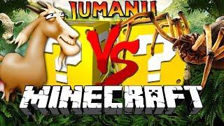 Download Minecraft: JUMANJI LUCKY BLOCK CHALLENGE   SCARY CREATURES!! Video