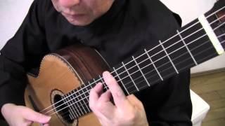 Download ギターソロ 「禁じられた遊び」より Romance de Amor 愛のロマンス 前奏と間奏付き タブ譜と楽譜で弾ける Video