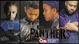 Download Marvel's BLACK PANTHER Movie Family CosPlay!! Video
