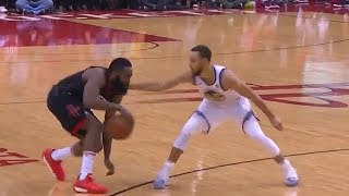 Download James Harden Shows Stephen Curry He Can't Be Guarded! Video