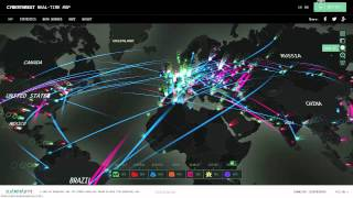 Download Real Time Cyber Threat Maps Video