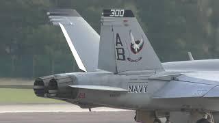 Download F-15 & F-18 Hornets off USS Harry s Truman prep & take off RAF Lakenheath 16Oct18 356p Video