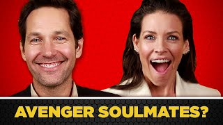 Download The Cast Of ″Ant-Man And The Wasp″ Found Out Which Avengers Are Their Soulmates Video