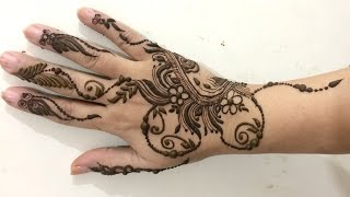 Download Spiral Floral Arabic Mehndi Designs For Party:Latest Henna Mehandi Pattern 2016(Mehndiartistica) Video