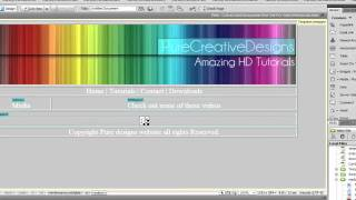 Download Dreamweaver cs4 Tutorial: How to embed quicktime,flv,mp4 and more into a webpage Video