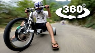 Download 360° Video: Trike Drifting in 360° Video