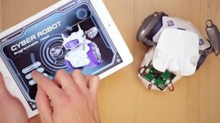 Download Cyber Robot Clementoni: programmazione e controllo via APP Video