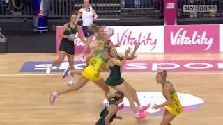 Download HIGHLIGHTS: 2019 Netball Quad Series opening weekend Video