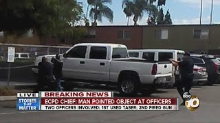 Download Man shot by El Cajon police officer has died Video