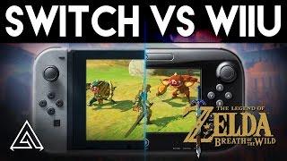 Download Zelda Breath of the Wild | Nintendo Switch vs. WiiU Gameplay Comparison Video