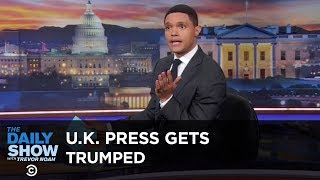 Download British Journalists Get Trumped for the First Time - Between the Scenes   The Daily Show Video