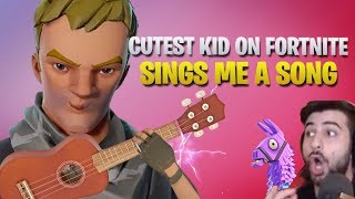 Download Cutest Kid On Fortnite Sings Me A Song (& Makes My Wife Cry) (Fortnite Battle Royale) Video