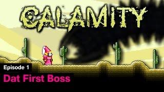 Download Terraria Calamity Mod - Episode 1 - Dat First Boss Video
