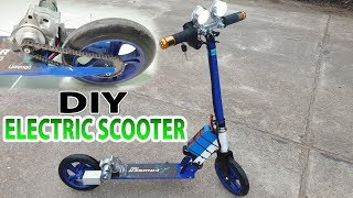 Download Build A Electric Scooter With Starter Motor Motorcycle and 775 Motor Video