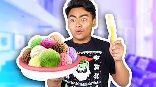 Download SCOOP THE PLATE TO MAKE ICE CREAM! Video