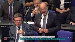 Download Martin Schulz zur Rede von Alexander Gauland zu den Vorkommnissen in Chemnitz am 12.09.18 Video