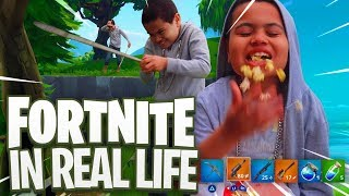 Download FORTNITE in REAL LIFE!!! - FAMILY VLOG FT. JAYDEN AND MAMA REZ! YOU WONT BELIEVE WHAT HAPPENED... Video