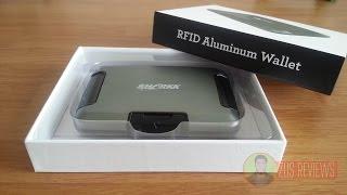 Download SHARKK RFID Aluminum Wallet Review Video