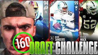 Download 160 OVERALL DEFENSIVE DRAFT CHALLENGE! ITS FIRE | MADDEN 17 ULTIMATE TEAM Video