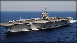 Download IRAN BOATS THREATENED US SHIPS... HERE'S HOW A NIMITZ-CLASS SUPERCARRIER RESPONDED Video