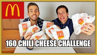 Download 160 CHILI CHEESE CHALLENGE Video