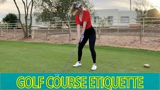 Download GOLF ETIQUETTE YOU NEED TO KNOW // Tips for Playing Like a Pro Video