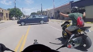 Download Stupid, Crazy & Angry People Vs Bikers | ROAD RAGE | Bad Drivers Caught On Go Pro [Ep.#123] Video