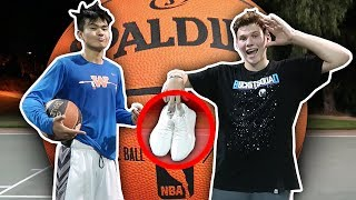 Download 1 V 1 VS COLLEGE BASKETBALL PLAYER FOR YEEZYS!! Video