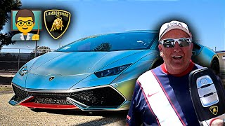 Download I Let my High School Teacher DRIVE MY LAMBORGHINI & this happened... Video
