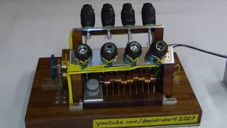 Download V8 Solenoid Engine 360° View Video