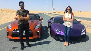 Download LAMBORGHINI RACING VS MY SISTER !!! Video