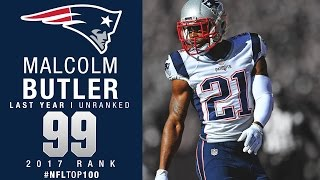 Download #99: Malcolm Butler (CB, Patriots) | Top 100 Players of 2017 | NFL Video
