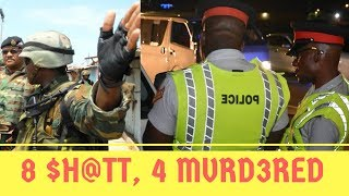 Download 8 $H@TT & 4 MVRD3RED In DOVER St Catherine + 3 R0GVE C0P$ Released On $2.5 MILLION Bail Video
