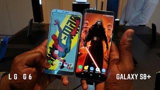 Download Galaxy S8+ vs LG G6 Video