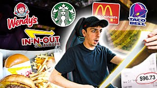 Download Letting The Person in FRONT of me DECIDE What I Eat for 24 HOURS!! Video