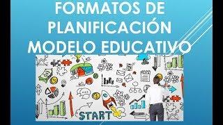Download Soy Docente: FORMATOS DE PLANIFICACIÓN 2018 Video