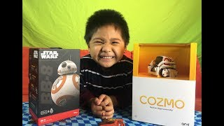 Download Star Wars BB-8 Ollie VS Anki Cozmo Robot Video