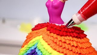 Download 10 AMAZING PRINCESS Dress CAKES 👑 Compilation! Video