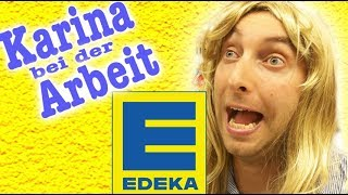 Download Karina bei der Arbeit - Edeka! Video