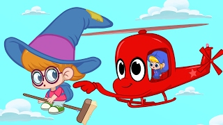 Download Playing Magical Tag with Morphle and Phoebe the Witch girl! Animation episode for kids Video