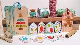 Download DIY Gift Wrap Kit! Tags, Labels & Washi Tape to Dress Up your Gifts! Video