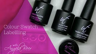 Download Two Styles of Labelling Gel Polish Bottles Video