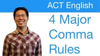 Download ACT English Prep Tips (Grammar) - 4 Major Comma Rules to Know Video