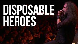Download ″Disposable Heroes″ by Metallica, performed by Metal Allegiance Video