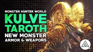 Download Monster Hunter | NEW MONSTER 'Kulve Taroth', Weapons & Armor Video